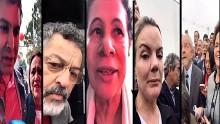 Petistas dão pequena amostra do que pretendem no dia 24 (Veja o Vídeo)