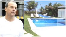 A fantástica mansão de Cabral, que será leiloada no dia 3 de outubro (Veja o Vídeo)