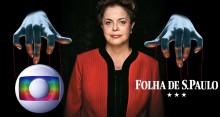 """Dilma interferia no jornalismo da Globo e pautava a """"Folha"""", revela grampo (Veja o Vídeo)"""