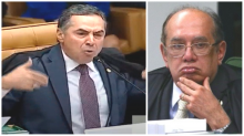 URGENTE: Barroso destrói Gilmar, como nunca visto na história do STF (Veja o Vídeo)