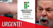 Funcionária de Instituto Federal relata alunos feridos e seguranças de Lula armados durante ato pró-petista