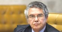 Marco Aurélio, indignado com pergunta, interrompe entrevista