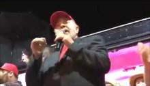 """Lula pede que PM dê """"corretivo"""" em manifestante (Veja o Vídeo)"""