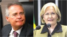 Envolto em falcatruas, Renan toma reprimenda e é detonado por senadora (Veja o Vídeo)