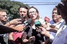 """Rosário se trai e clama """"lutem contra a democracia"""" (Veja o Vídeo)"""