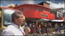 Desesperado, Lindbergh faz campanha sem plateia e é ignorado (Veja o Vídeo)