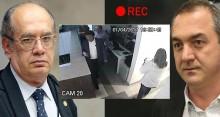 Câmera revela que Joesley visitou Gilmar no período em que fazia gravações para a delação