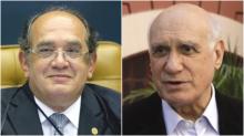 Infâmia: Gilmar ataca Lasier usando caso em que senador foi absolvido pelo STF