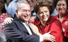 """Temer vive inferno astral, enquanto Dilma passeia pelo mundo gritando """"estão destruindo a Petrobrás"""""""