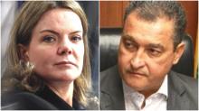 """Por coleguinha da """"bancada da chupeta"""", Gleisi entra em rota de colisão com governador da Bahia"""