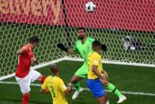 O que ninguém comenta é que Alisson falhou no gol da Suíça