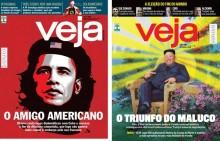 A dupla face da revista Veja