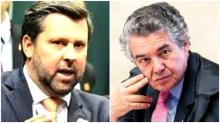 Deputado aplica desmoralizante corretivo no ministro Marco Aurélio (Veja o Vídeo)