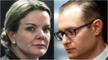 Gleisi, indignada, faz pressão contra Zanin na defesa de Lula