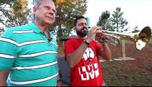 """Dirceu, o infame trompetista e o grito de """"Lula Livre"""" de um criminoso (Veja o Vídeo)"""