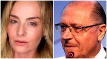 Alckmin pisa feio com Angélica (Veja o Vídeo)