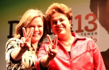 Gleisi faz Dilma a privilegiada do PT, em detrimento a Lindbergh, Humberto Costa, Paim e Wagner