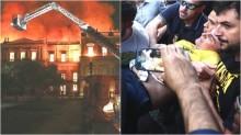 Corajoso! Ator global aponta ligação entre o incêndio do museu e o atentado contra Bolsonaro
