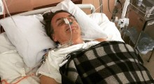 No hospital, Bolsonaro recebe notícia de vitória no STF