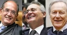 Renan usa a vitimização e a ajuda de Gilmar e Lewandowski no horário político (Veja o Vídeo)