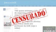 URNAS ELETRÔNICAS: Agências de checagem de fatos distorceram e omitiram informações para desacreditar o Jornal da Cidade Online