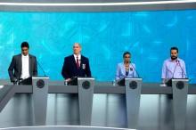 Mesmo ausente Bolsonaro foi a presença mais marcante no debate (Veja o Vídeo)