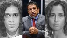 """Magno Malta manda recado desmoralizante para Camila Pitanga e Caetano: """"mamaram, mamaram e mamaram."""" (veja o vídeo)"""