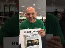"""""""A Folha de São Paulo só serve para duas coisas: juntar coco de cachorro e embrulhar peixe"""" diz Luciano Hang da Havan"""