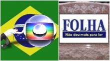 """Globo e Folha, os grandes derrotados e a desmoralização da """"sociedade de fato"""" entre as duas empresas"""