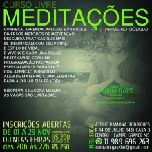 """O Ateliê Ramona Rodrigues Realiza – os cursos de """"Mantras"""" e de """"Meditações"""" por Murillo Flores"""
