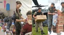 As Forças Armadas protegendo os nordestinos