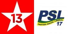 TSE divulga prestação de contas de PT e PSL e resultado impressiona