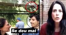 Mulher, autora de vídeo com invasores de propriedade em SP, revela destino dado aos meliantes (Veja o Vídeo)
