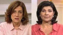 Miriam Leitão leva invertida ao vivo de Cristiana Lobo (Veja o Vídeo)