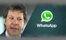 WhatsApp envia nota e faz desmoronar a última farsa do PT,  Folha e Datafolha