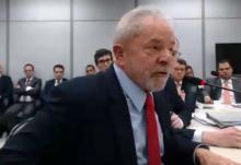 Canastrão, Lula ainda tentou agredir Moro. Gabriela, impecável, não permitiu (Veja o Vídeo)