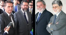 """Chanceler de Lula provoca chanceler de Bolsonaro e recebe resposta inesperada sobre """"possíveis falcatruas"""""""