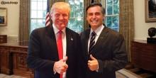 Bolsonaro ganha prestígio internacional e pode ter Trump na sua posse