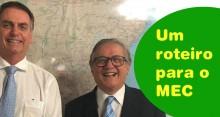 Em artigo impactante, novo ministro traça os novos rumos para a Educação no Brasil