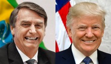 Bolsonaro pretende criar alinhamento conservador latino com Trump