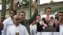 Agressão de mulher, militante de esquerda, em Bolsonaro é estudada para reforçar segurança (Veja o Vídeo)