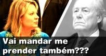 Deputada Joice Hasselmann desafia ministro Lewandowski (Veja o Vídeo)