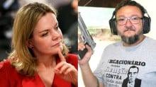 Gleisi tenta tirar proveito político de tragédia, mas é massacrada por especialista em Segurança Pública