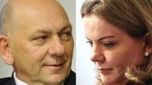 """Por ofensa a dono da Havan, PF abre inquérito contra Gleisi Hoffmann, a """"louca"""""""