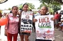 """Atos por """"Lula Livre"""" emperram por apatia da militância"""