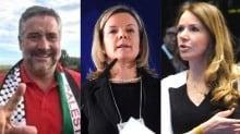 A sarcástica alegria, que durou pouco, de Gleisi, Pimenta e Vanessa (Veja o Vídeo)