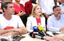 Gleisi, Lindbergh e Pimenta comunicam que PT não participará da posse de Bolsonaro