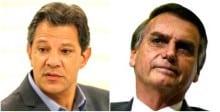 Na véspera da posse, Haddad insulta Bolsonaro, com grosseria e ironia, e recebe resposta