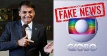 Bolsonaro desmascara nova fake news fortíssima da Globo