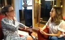 Gleisi em Caracas: Luxo, repórter à tira colo e conduta potencialmente criminosa (Veja o Vídeo)